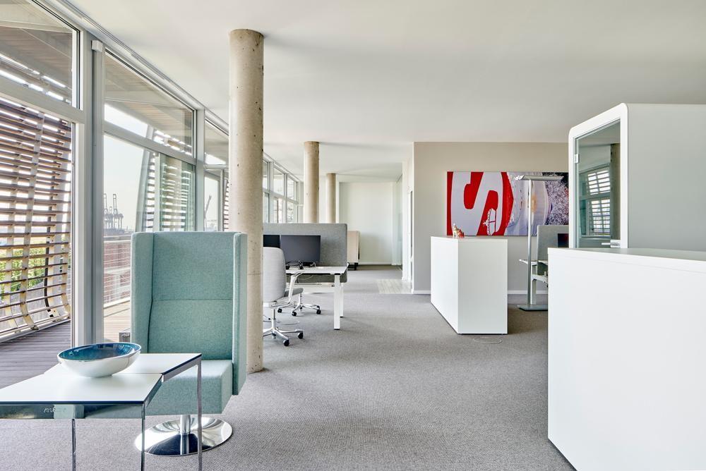 Das neue Headquarter trägt dem grundlegenden Wandel der Arbeitswelt Rechnung. Abbildung: Kinnarps/Annika Feuss