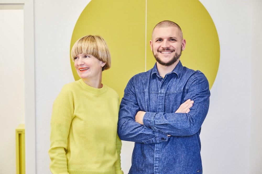 Das Designerduo Marcel Besau und Eva Marguerre. besau-marguerre.de. Abbildung: Silke Zander