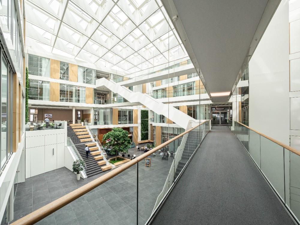 Ein spezielles Beleuchtungskonzept ist Teil der lichtgestalterischen Gesamtplanung des Campus. Abbildung: Bilderwerk-Hannover Soeren Deppe