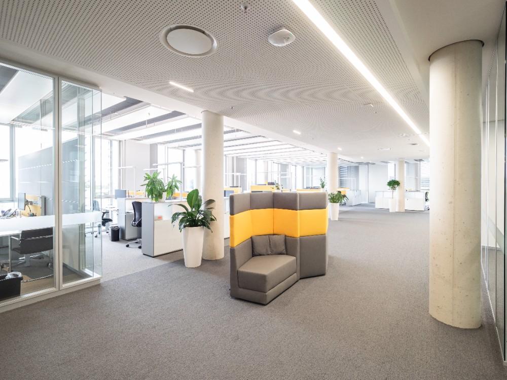 Es wurde ein Ort und eine Atmosphäre für effektivere Zusammenarbeit und Kommunikation geschaffen. Abbildung: Bilderwerk-Hannover Soeren Deppe