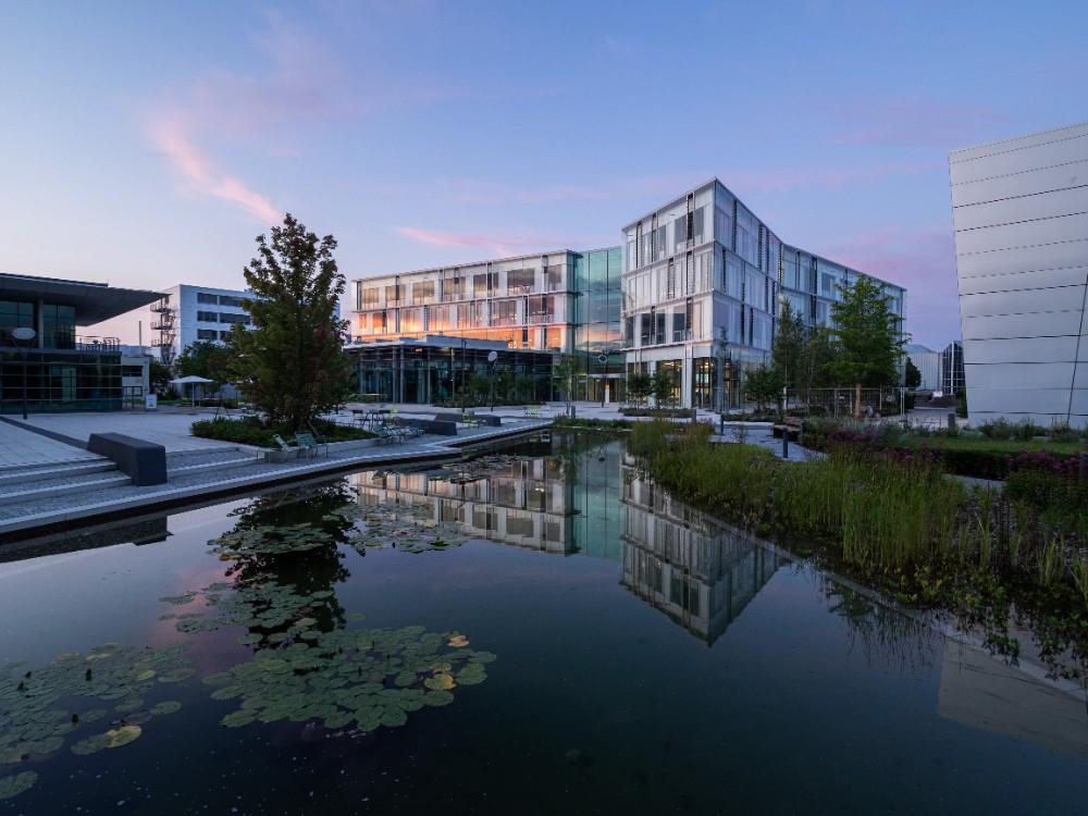 Der Campus der Sartorius AG in Göttingen. Abbildung: Bilderwerk-Hannover Soeren Deppe
