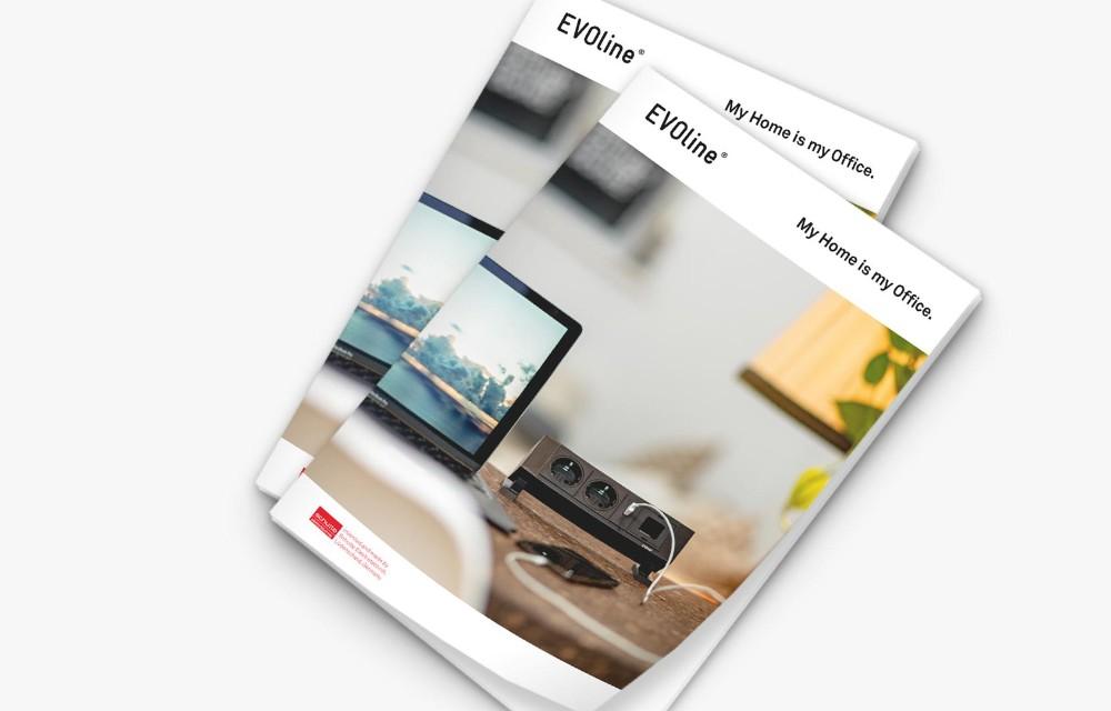 Die Homeoffice-Broschüre zeigt intelligente Lösungen für den heimischen Arbeitsplatz. Abbildung: Schulte Elektrotechnik