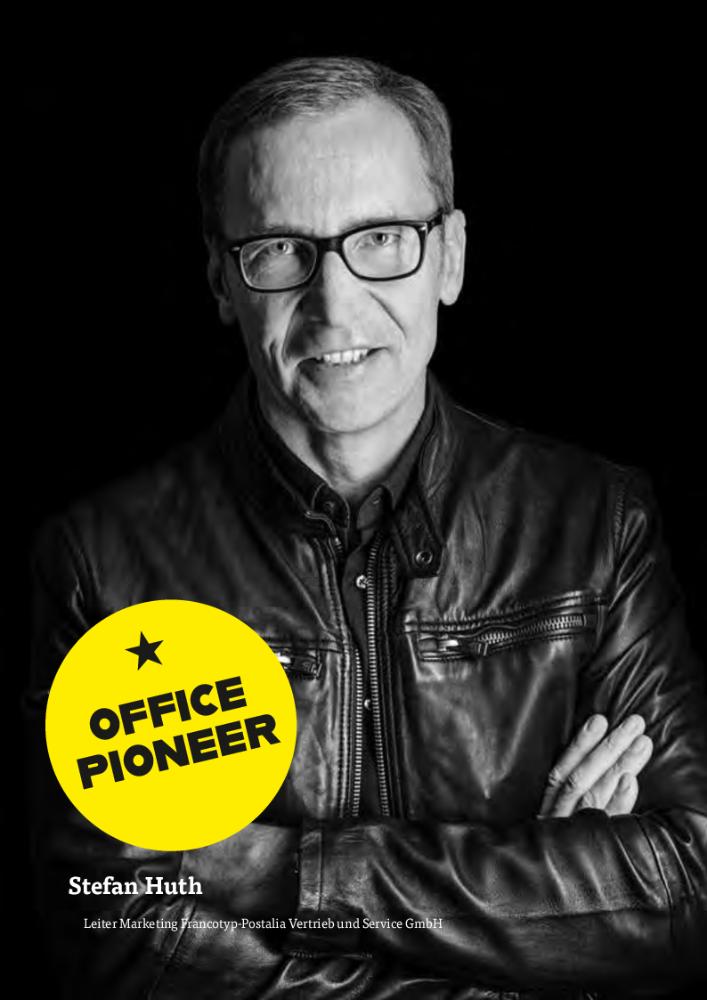 Stefan Huth, Leiter Marketing Francotyp-Postalia Vertrieb und Service GmbH. Abbildung: Francotyp-Postalia