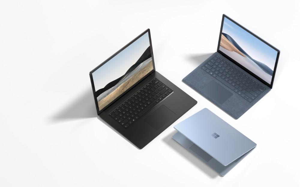Surface Laptop 4 von Microsoft.
