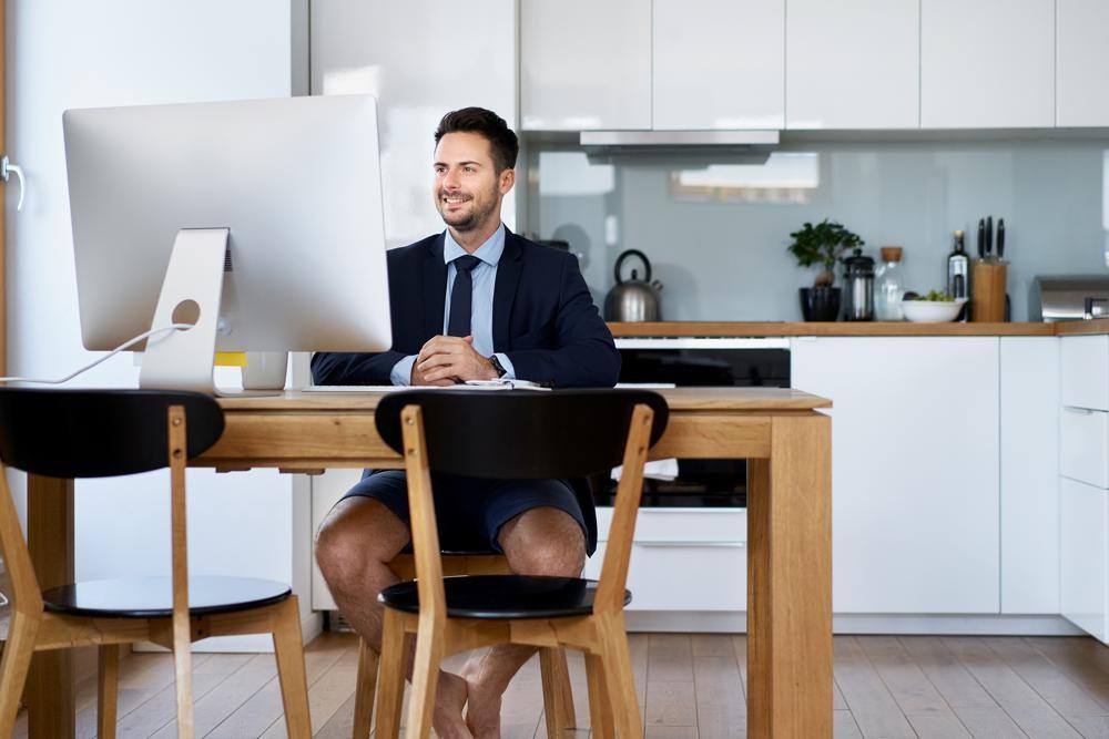Die Arbeit im Homeoffice hat den ein oder anderen Vorteil gegenüber dem Büro. Abbildung: AF International