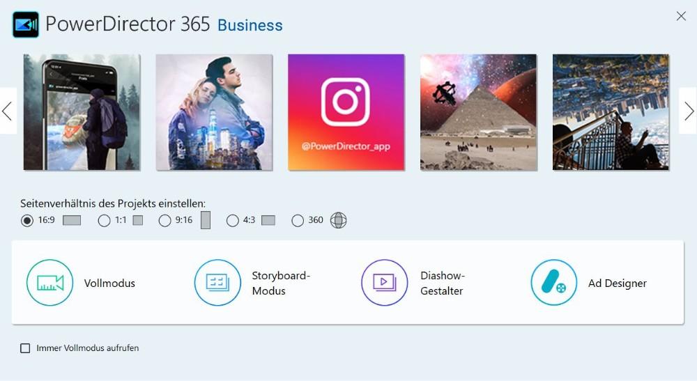 Optimierter Workflow für YouTuber, Vlogger und Instagram-Influencer. Abbildung Cyberlink