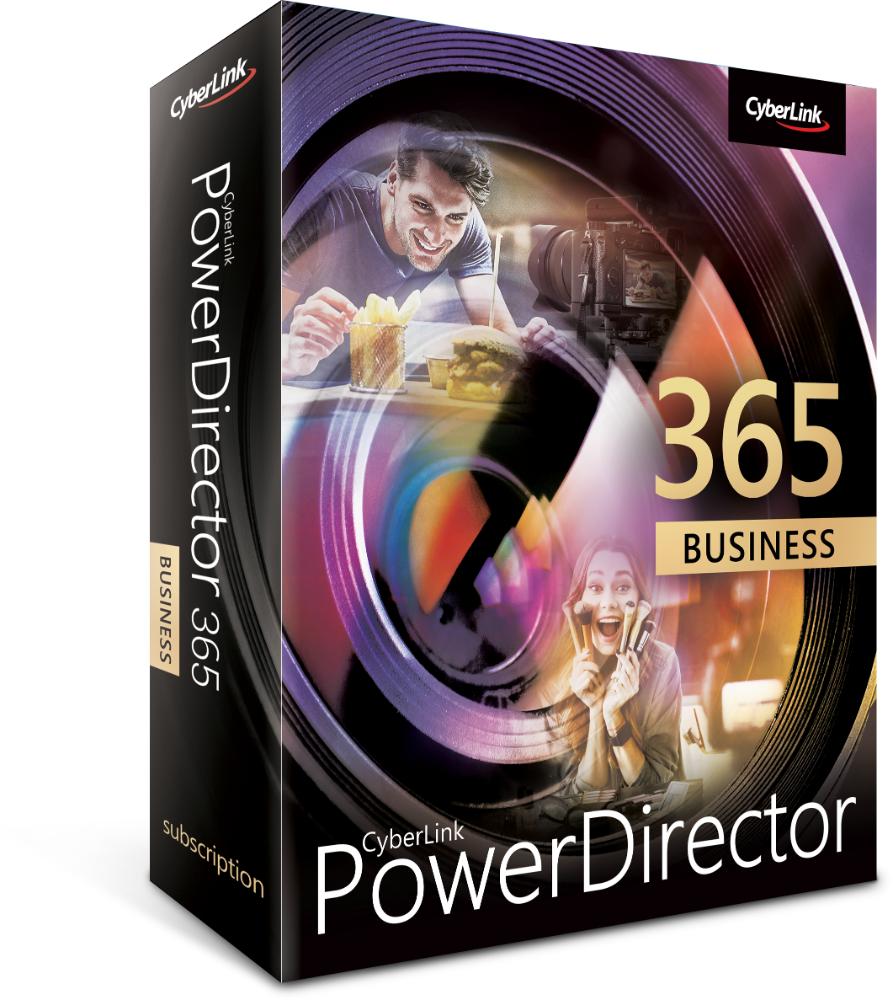 Mit PowerDirector 365 Business können professionelle Social-Media-Anzeigen oder Marketingvideos erstellt werden. Abbildung: Cyberlink
