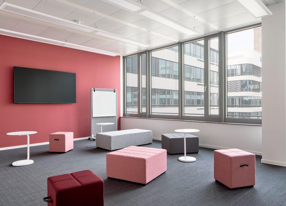 Die fünf größten Räume des Komplexes sind hypermodular ausgestattet und eignen sich optimal für kreative Settings. Abbildung: Annika Feuss