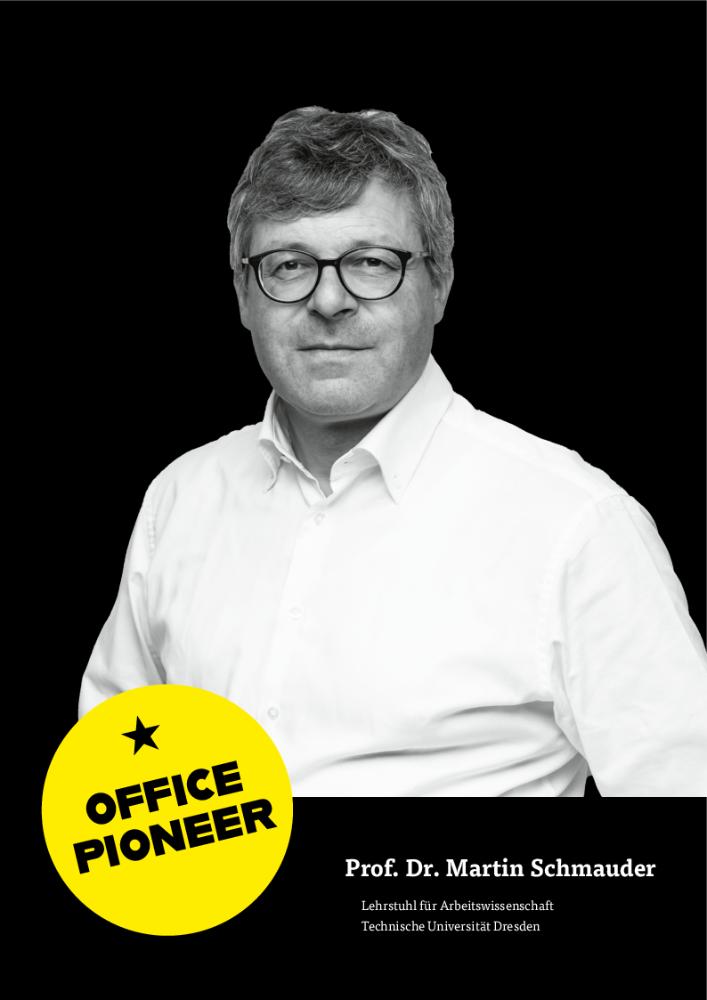 Prof. Dr. Martin Schmauder, Lehrstuhl für Arbeitswissenschaft, Technische Universität Dresden. Abbildung: Martin Schmauder